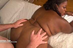 Big black cock in wet pussy