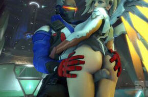 Overwatch mercy hentai
