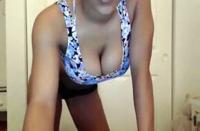 Amateur black teen webcam
