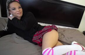 Hot school girl porn video
